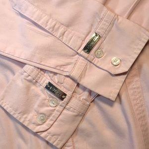 Express Pink Button Down The Essential Shirt